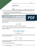 Estructuras Algebraicas Ing. Aldo Gimenez Artiaga