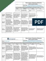 edsc weekly schedule format week 2