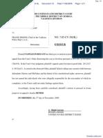 Bryant v. City of Valdosta et al - Document No. 13