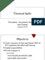 Chemical Spills