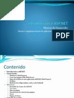 Introduccion ASP.net