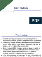6 Network Neutrality