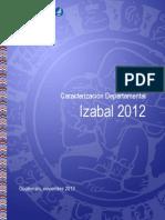 Caracterizacion Estadistica Departamento Izabal