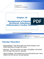 Management of Patients with Structural Infections and Inflammatory Cardiac Disorders Hinkle PPT Ch 28