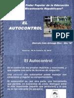 El autocontrol.ppt