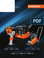 Hitachi Compaction Equipment Brochure