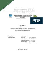 Las Tic´s en el Desarrollo de Competencias  y la Cultura Investigativa
