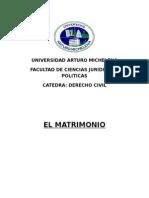 El Matrimonio  2015.docx