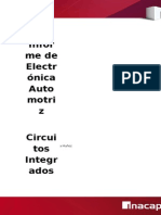 Informe de Electronica, Circuitos Integrados