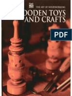 The Art of Woodworking - Wooden Toys and Crafts