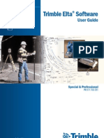 Trimble Elta Software User Guide Ver0200