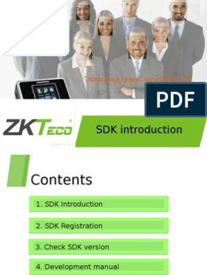 ZKsoftware development manual | Microsoft Windows | 64 Bit