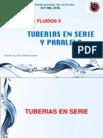 5 Tuberias en Paralelo
