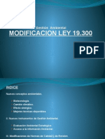 Modificación Ley 19300