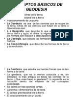 Conceptos Basicos de Geodesia