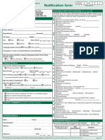 Metro Communicable Disease Statutory Notification Form