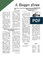 Pilcrow and Dagger Sunday News 6-21-2015 Vol 2 Ed 21