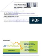 Positron Differential Studies