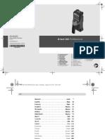 Detetor d Tect 150 Professional Manual 77349