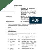 Pliego Tecnico Normativo-RPTD10 Centrales Produccion y Subestaciones