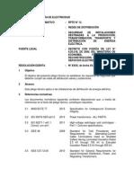 Pliego Tecnico Normativo-RPTD13 Redes de Distribucion