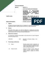 Pliego Tecnico Normativo-RPTD14 Apoyo en Postes