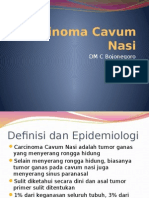 Carcinoma Cavum Nasi Restu