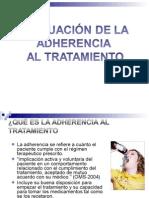 Adherencia Al Tratamiento