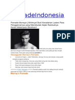 Pomade Indonesia