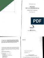 FCollin Praxis de La Diferencia - Cap. 1