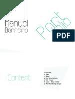 Portfolio Manuel Barreiro v4 Eng