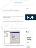 Configuring Intergraph Smart 3D Application Servers and Databases Creations - GOVARDHAN GUNNALA