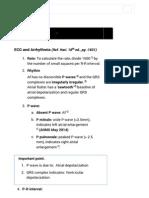 ECG and Arrhythmia - Cardiology