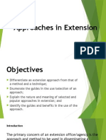 Approaches in Extension - Emmalyn Clemente