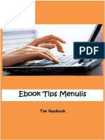 eBook Tips Menulis