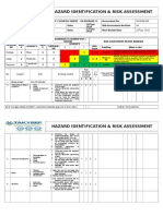 009 Installation of Pumps risk assessment