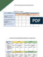 Formatos de Registro Para El Trabajo de Sistematizacion