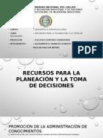 Grupo9-Recursos Para La Planeación y La Toma de Decisiones