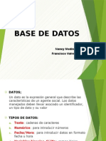 Base Datos NMC