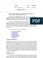 Labour Management Relation course code 821
