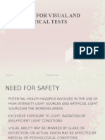 Safety in Visual Testing