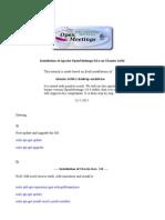 Installation OpenMeetings 3.0.x on Ubuntu 14.04 (1)