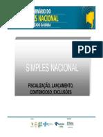 ISeminario Simples Nacional Fiscalizacao