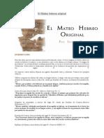 El Mateo Hebreo Original-OBJETORES