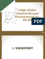 Hoechst Case Study ppt