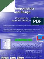Anthropometrics and Design