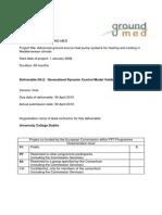 Deliverable 4.2 Control Model Validation 02