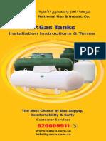 LPG Tanks Installation Instructions by GASCO