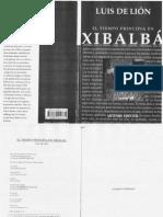 El Tiempo Principia en Xibalba