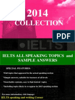 2014 Speaking Collection and Answers